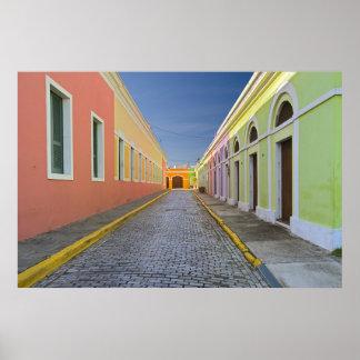 Street in San Juan, Puerto Rico Poster