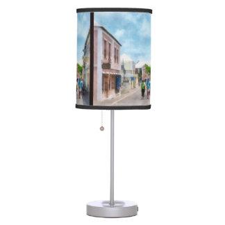 Street in St. George's Bermuda Table Lamp