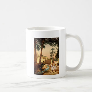 Street in the old town, Biskra, Algeria Classic White Coffee Mug