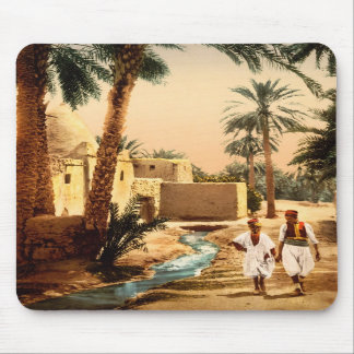 Street in the old town, Biskra, Algeria Mouse Pads