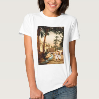 Street in the old town Biskra Algeria T-shirt