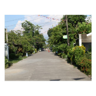 Street in the Visayas Postcard