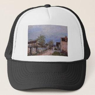 Street in Veneux by Alfred Sisley Trucker Hat