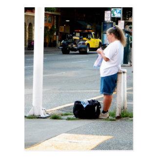 Street Knitter Postcard