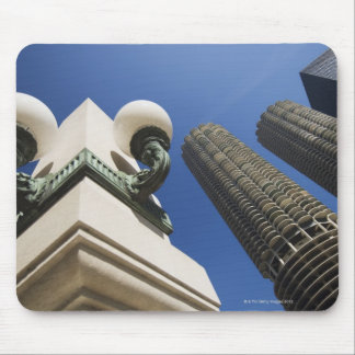 Street lamp detail at Marina City Towers Chicago Mouse Pad