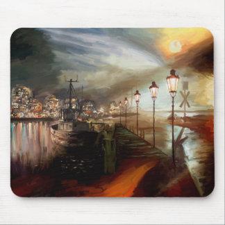 Street Lamp Hallucination Mouse Pad