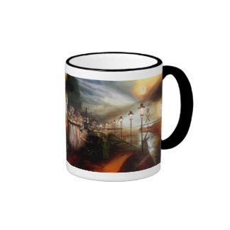Street Lamp Hallucination Ringer Mug
