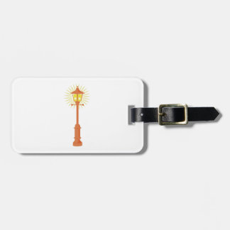 Street Lamp Tag For Bags