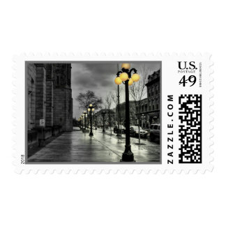 Street Lamp Medium Postage
