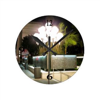 Street Lamp Wall Clocks
