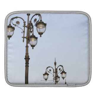 Street Lamps iPad Sleeve
