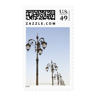 Street Lamps Postage Stamp