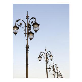 Street Lamps Postcard