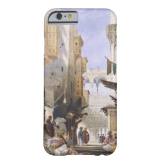 Street Leading to El Azhar, Grand Cairo, pub. 1846 Barely There iPhone 6 Case