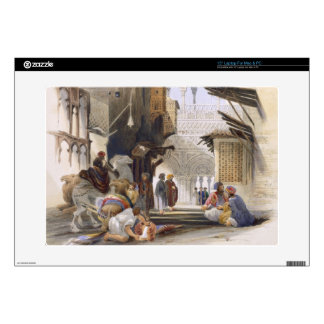 Street Leading to El Azhar, Grand Cairo, pub. 1846 Decals For Laptops