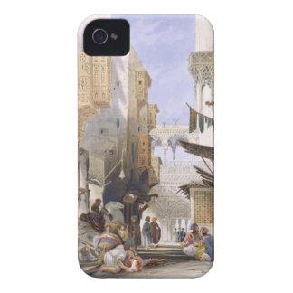 Street Leading to El Azhar, Grand Cairo, pub. 1846 iPhone 4 Cover