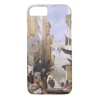 Street Leading to El Azhar, Grand Cairo, pub. 1846 iPhone 7 Case