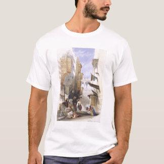 Street Leading to El Azhar, Grand Cairo, pub. 1846 T-Shirt