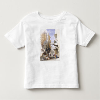 Street Leading to El Azhar, Grand Cairo, pub. 1846 Toddler T-shirt