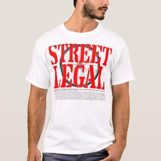 Street Legal Massachusetts T-Shirt