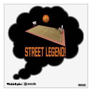 Street Legend Wall Decal