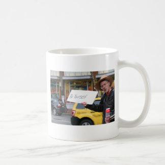 Street Life Classic White Coffee Mug