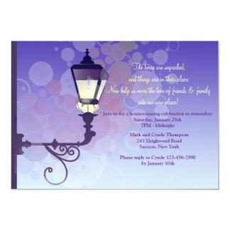 Street Light Housewarming Party Invitation