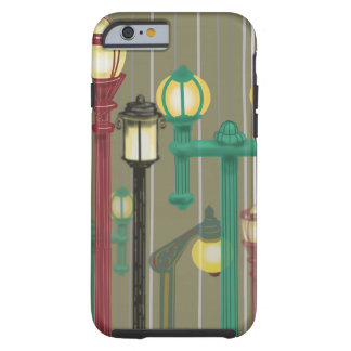 STREET LIGHT LAMPPOSTS by Slipperywindow Tough iPhone 6 Case
