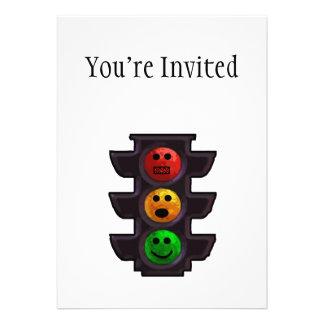 Street Light Moods Invitations