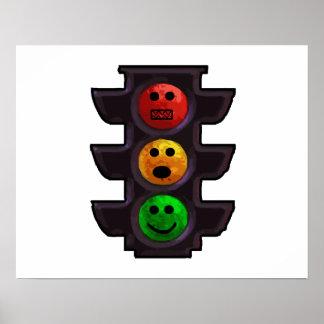 Street Light Moods Poster