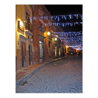Street Lights in San Miguel Postcard