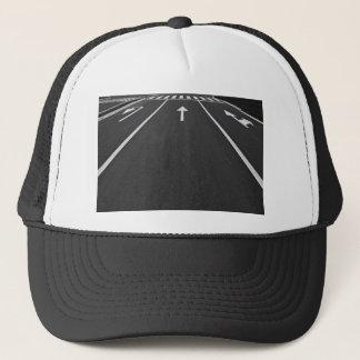 street lines trucker hat