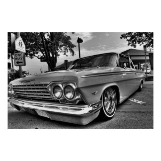 Street Lowrider Poster