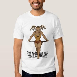 Street Manga - Anime Box Braids T Shirt