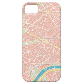 Street Map of Paris iPhone SE/5/5s Case