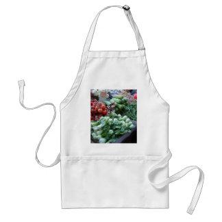 Street Market Fresh Vegetables CricketDiane Adult Apron