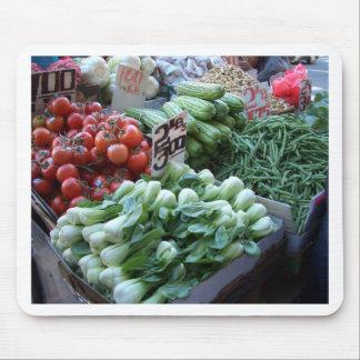 Street Market Fresh Vegetables CricketDiane Mousepad