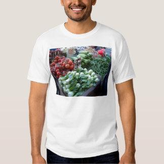 Street Market Fresh Vegetables CricketDiane Tshirt
