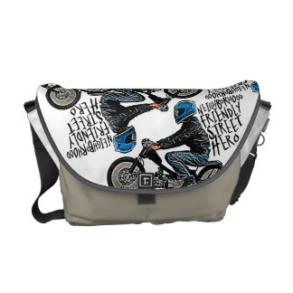 Street Moto racing Courier Bags