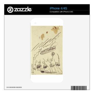 Street Music II by Theo van Doesburg iPhone 4S Skins