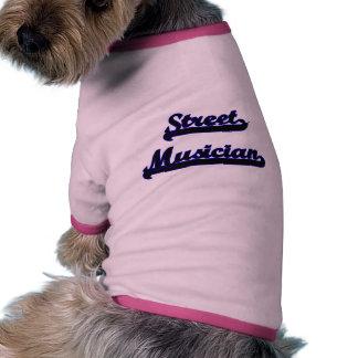 Street Musician Classic Job Design Pet Shirt