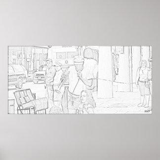 Street_Musician Print