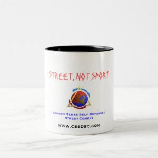 Street, not Sport: CSSD/SC mug