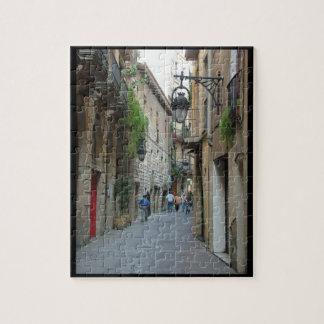 Street of Barcelona Jigsaw Puzzle
