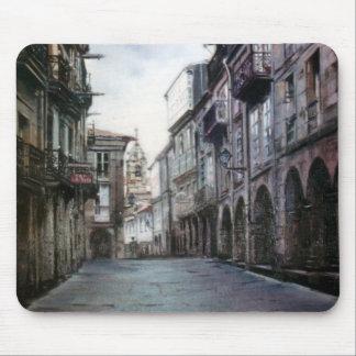 Street of Billiards (Santiago de Compostela) Mouse Pad