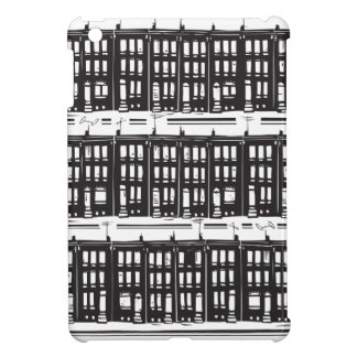 Street of Row Homes Cover For The iPad Mini