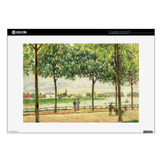 Street of Spanish Chestnut Trees by the River, 187 Laptop Skin