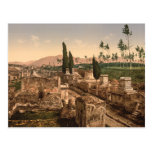 Street of the Tombs, Pompeii, Campania, Italy Post Card