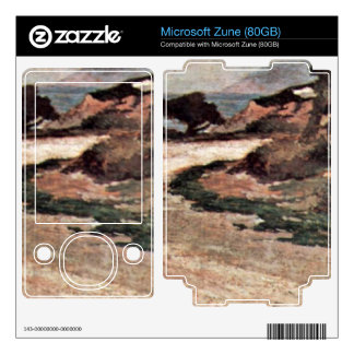 Street on the bank of the sea by Giovanni Fattori Skins For Zune