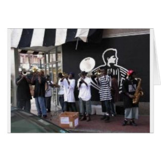 street perfomers card
